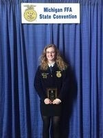 Sanderson Earns American FFA Degree- Top 1% in the Nation