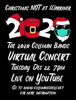 2020 Christmas NOT at Warriner Virtual Band Concert