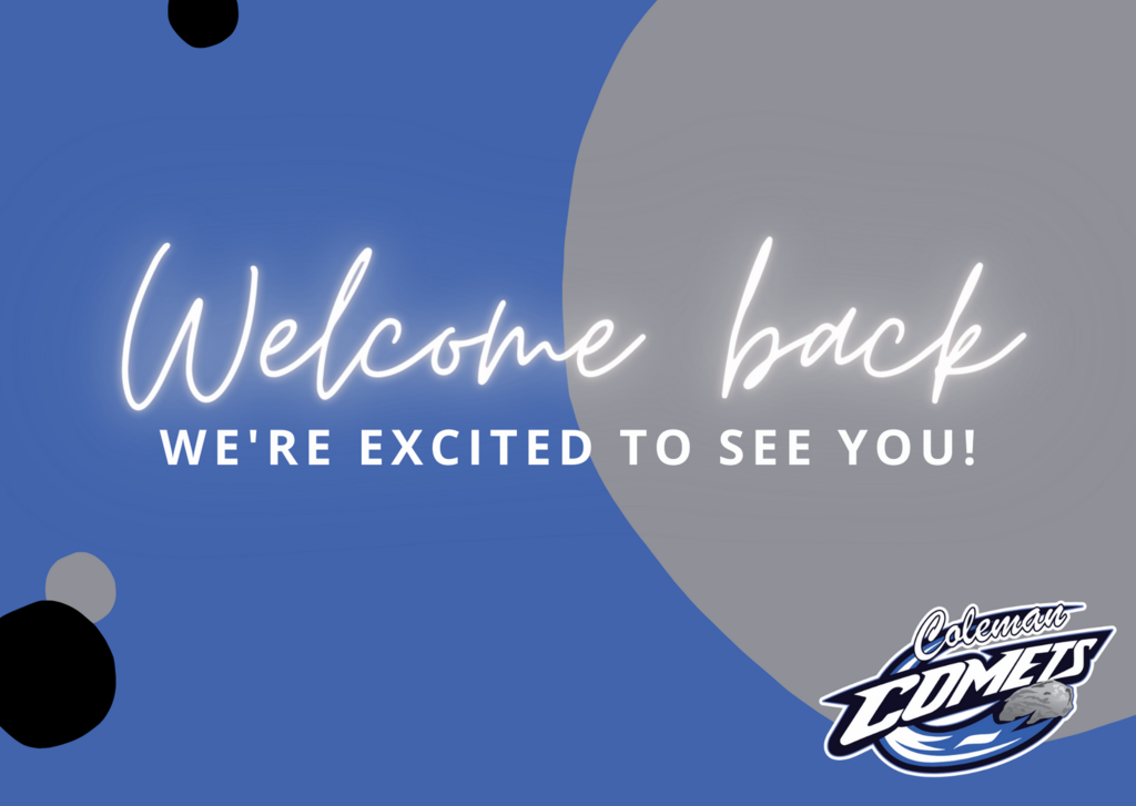Welcome Back, We're excited to see you!