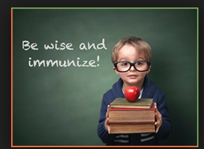 Be wise and immunize